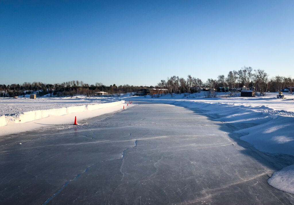 Ramsay Lake skate trail
