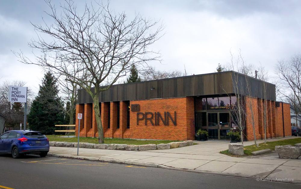 Exterior of the Port Rowan Inn on Bay Street in Port Rowan, Ontario in Norfolk County