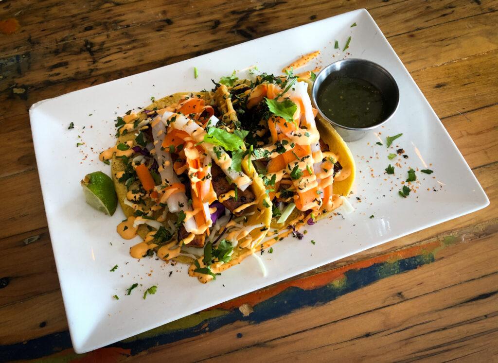 Bành Mì' Taco at Tucos Taco Lounge, Sudbury