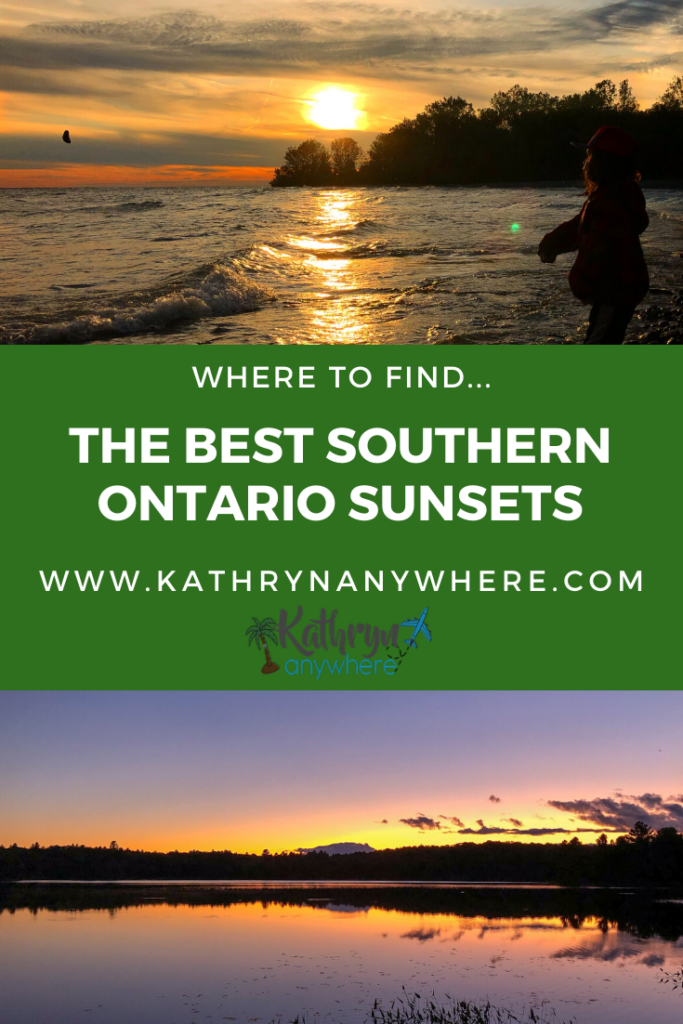 Want to know where to go to find the best sunsets in southern Ontario? I'll tell you where here! From Windsor to Presqui'ile Provincial Park and places in between