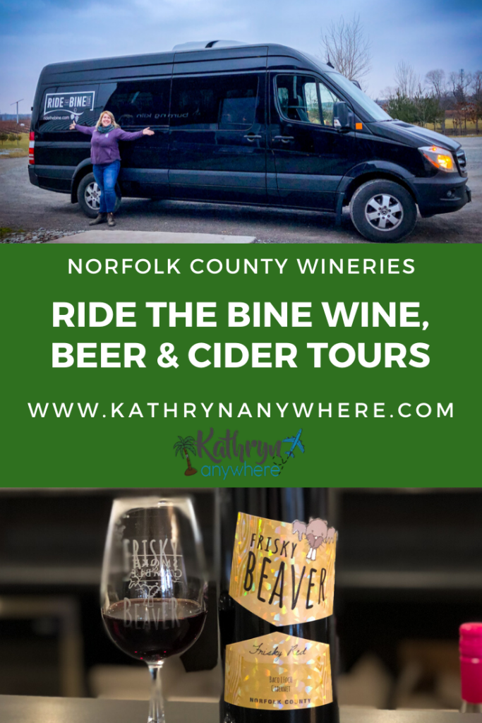Ride The Bine Beer and Wine and Cider Tours in Norfolk County. Visit wineries in Norfolk County you need to know about!