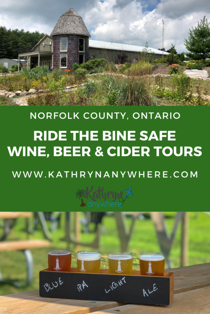 Ride The Bine - Safe Wine, Beer and Cider Tours in Norfolk County. We safely re-connected, sampled some of the best cider, beer and wine Ontario has to offer and enjoyed some social distancing fun #itsbinetime #ridethebine #beertour #winetour #ontariosgarden