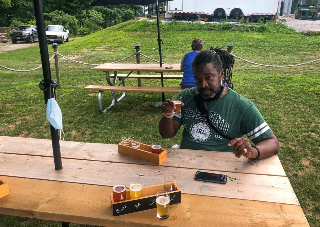 Hometown Brew cheers to Christopher Rudder from Rudderless Travel