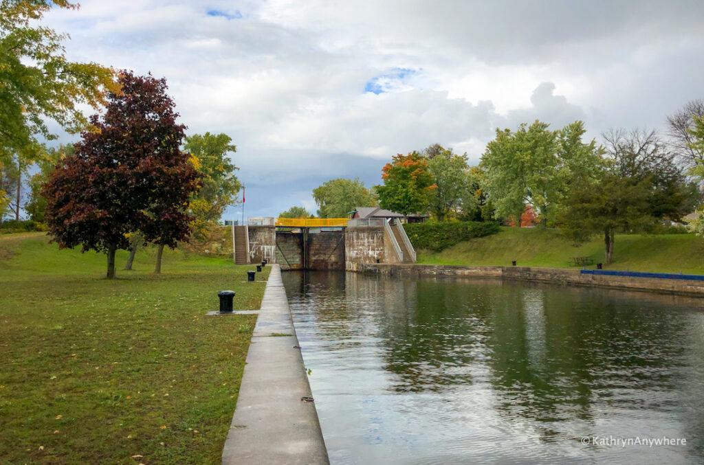 Frankford, Ontario Lock 6 on the Trent Severn Waterway