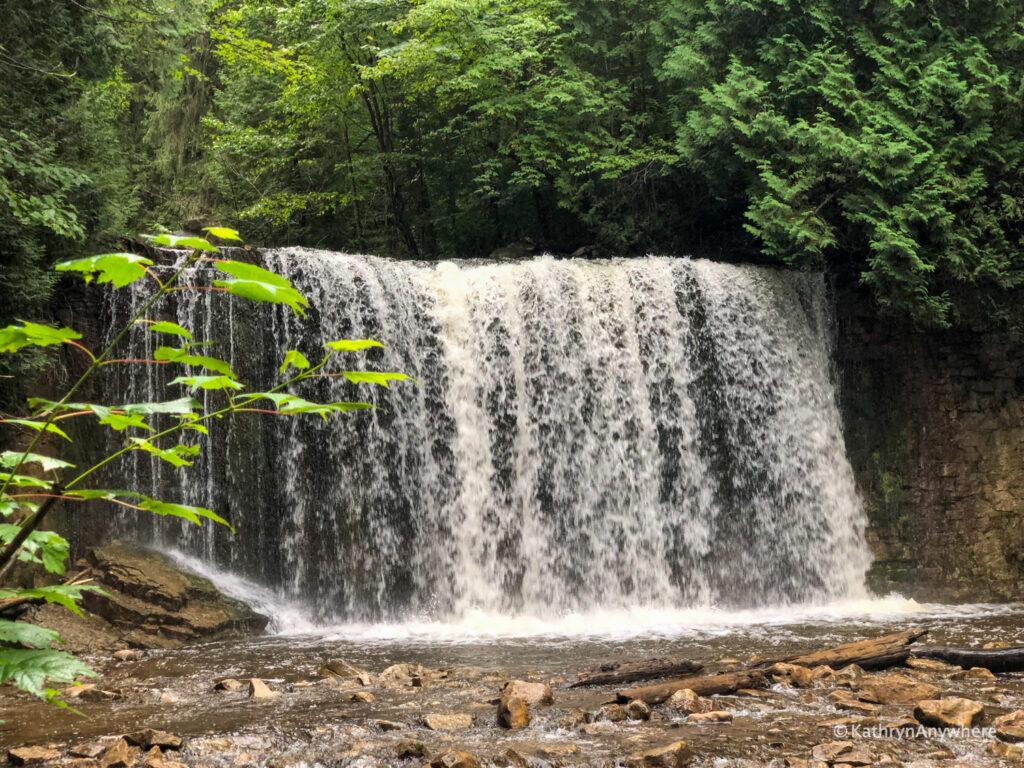 Hoggs Falls in Grey County, Ontario