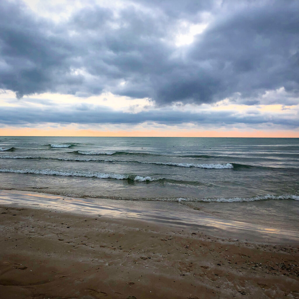 Pre-sunset at North Beach Provincial Park in Prince Edward County