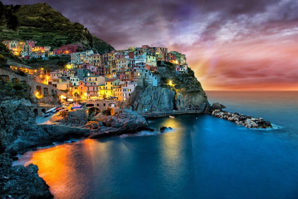 Beautiful Italian Coast, stock image on wordpress