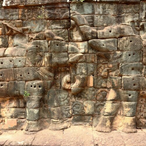 Generic temple carvings - Stock photo from Wordpress to depict oldest countries in the world