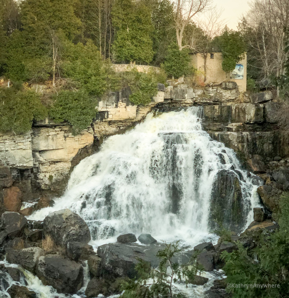 Inglis Falls, Owen Sound, waterfalls about two hours from Toronto