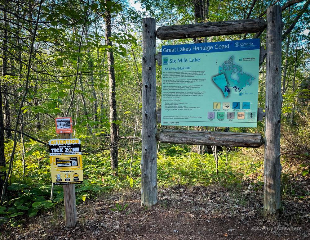 Six Mile Lake Provincial Park Hiking Trails