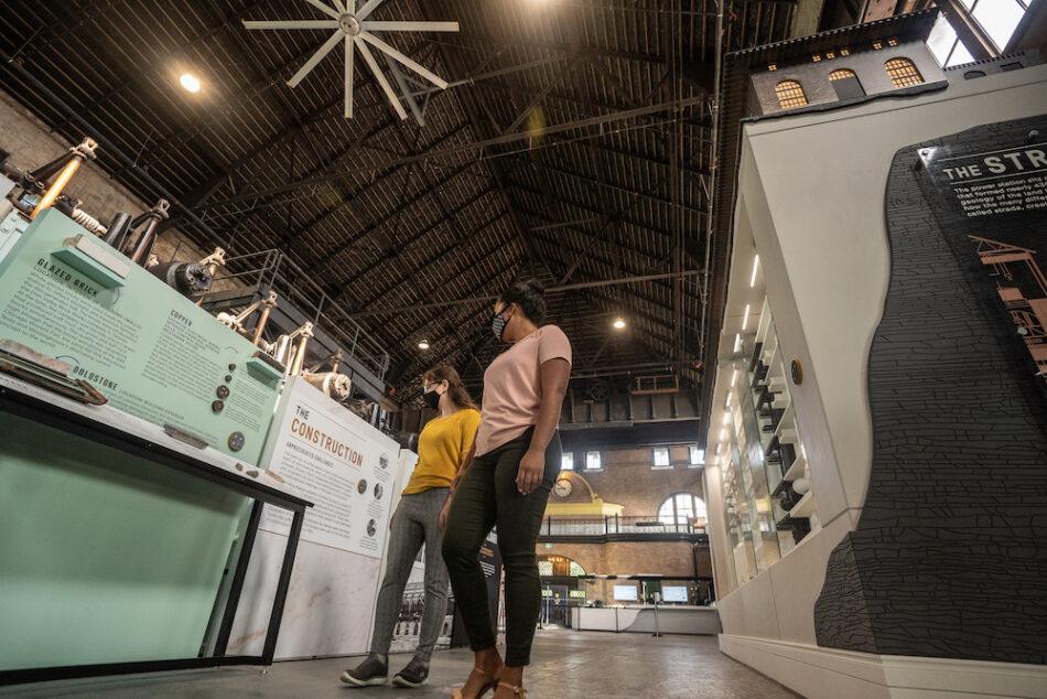 Self-guided tour inside the Niagara Parks Power Station