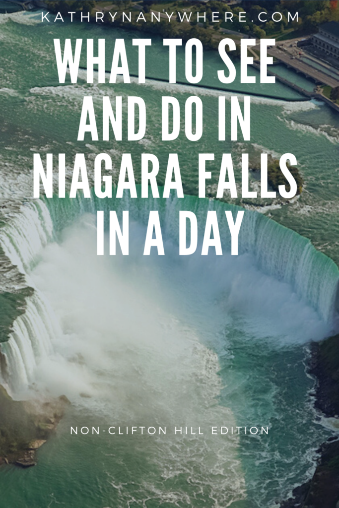 What To See And Do In Niagara Falls In A Day (non-clifton hill edition). Niagara Parks Power Station, Journey Behind The Falls and Table Rock Restaurant