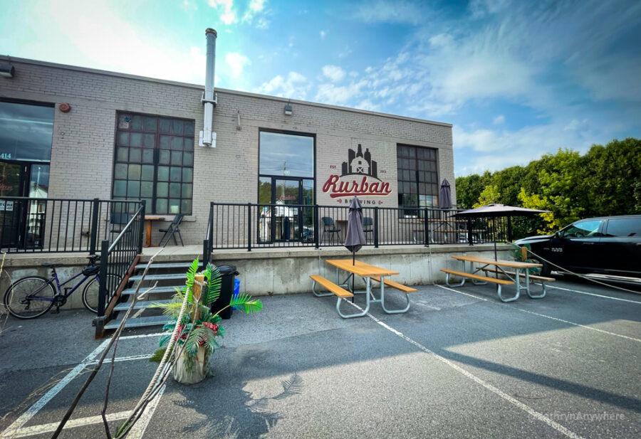 Rurban Brewery Exterior in Cornwall Ontario